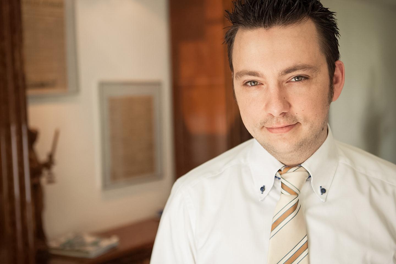 Businessporträt von Rechtsanwalt Heidicker