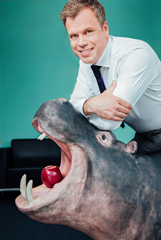 Corporate Porträt des Geschäftsführers von Creditreform Bochum