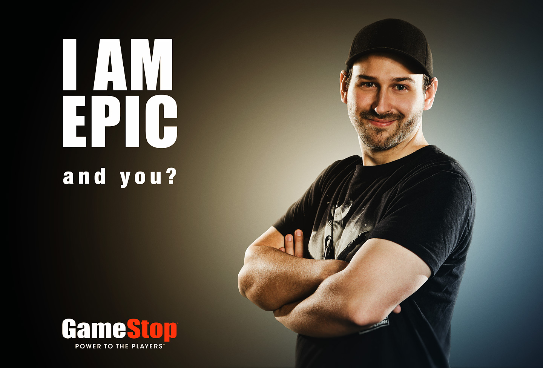 Werbefotografie in Dortmund für das Unternehmen Gamestop