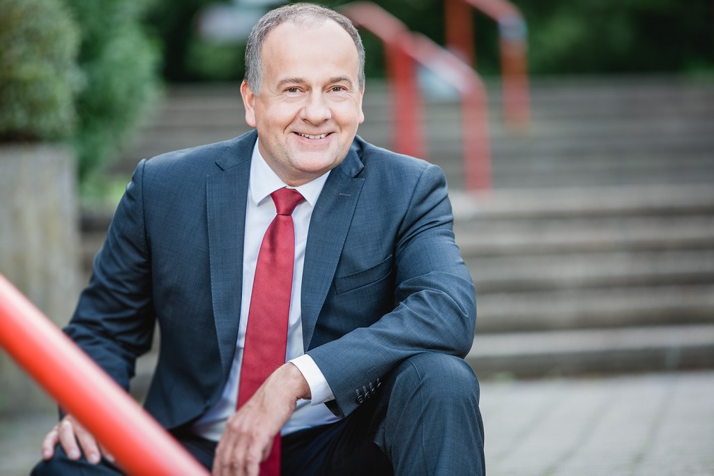 Portrait Shooting mit Prokurist Claus Ripken