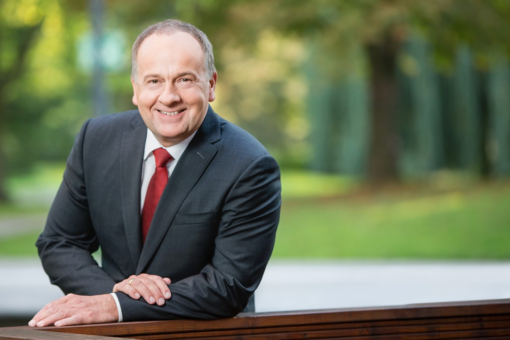 Business Portrait in Dortmund von Prokurist Claus Ripken