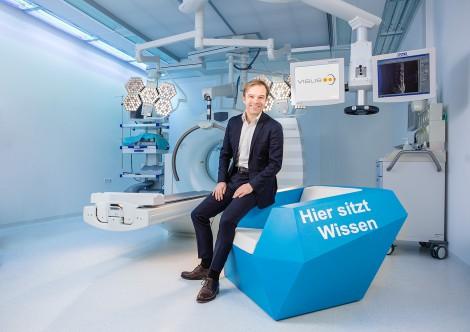 Werbefotografie bei der Firma Visus in Bochum