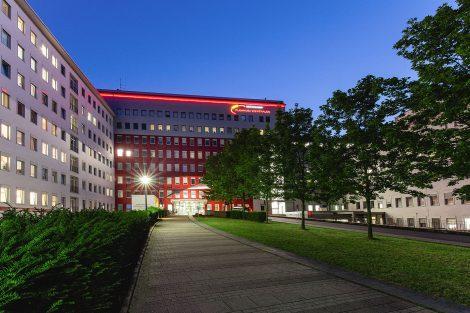 Gebauedefotografie, Architektur-Fotografie vom Knappschaftskrankenhaus Dortmund