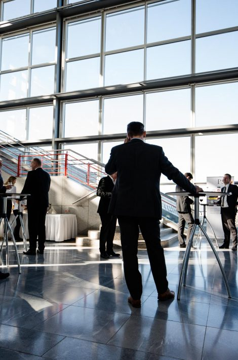 Event-Fotografie der PSI Logistics Day am Flughafen Stuttgart