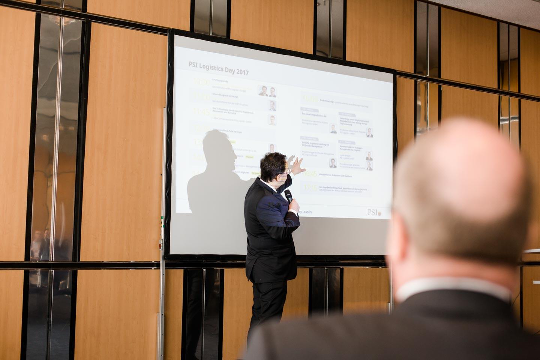 Event-Fotografie Vortrag der Geschäftsführung