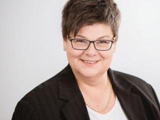 Headshot Fotografie für verdi Gewerkschaftssekretärin A. Schlosser