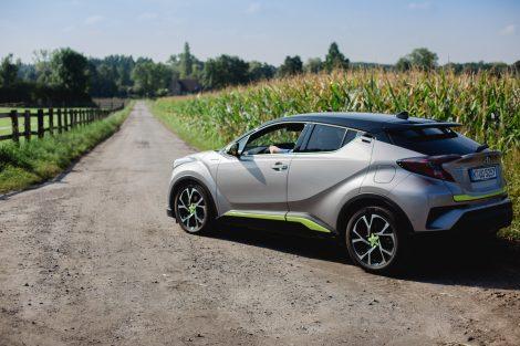 Car Fotografie Toyota CHR für das Magazin Auto und Leben in Gelsenkirchen