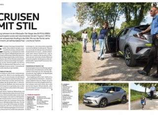 Autofotografie für das Toyota Magazin Auto & Leben in Gelsenkirchen